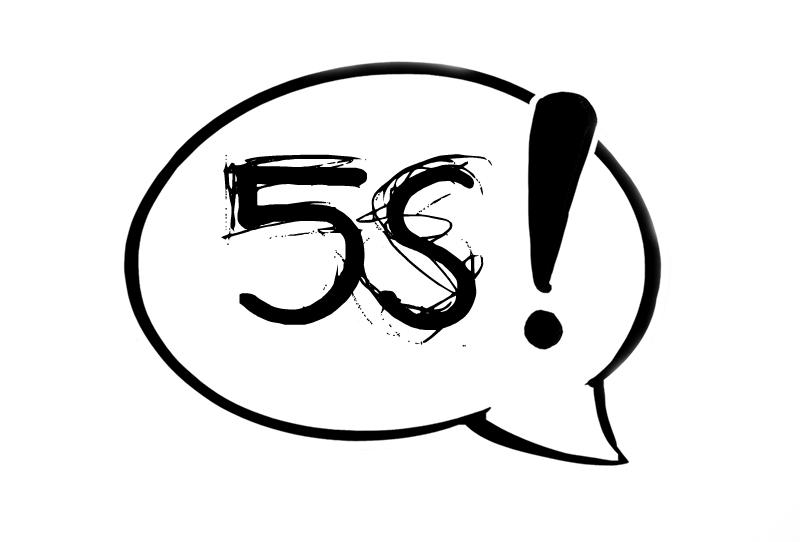 5S, jokaisen tehokkaan työn perusedellytys